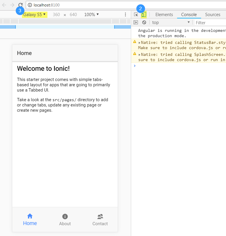 Launch and test an Ionic app: the 4 methods - Hugo Pich